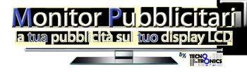 Monitor pubblicitari vendita e noleggio